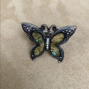 Butterfly stretchy Band Ring